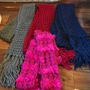Accessories - 5 scarf bundle